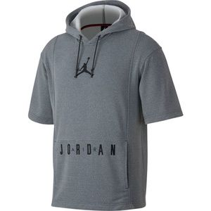 NEW Jordan Lifestyle Short Sleeve Basketball Hoodi